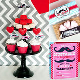 Mustache Love! A Hip, Heart-Filled Valentine's Day Party