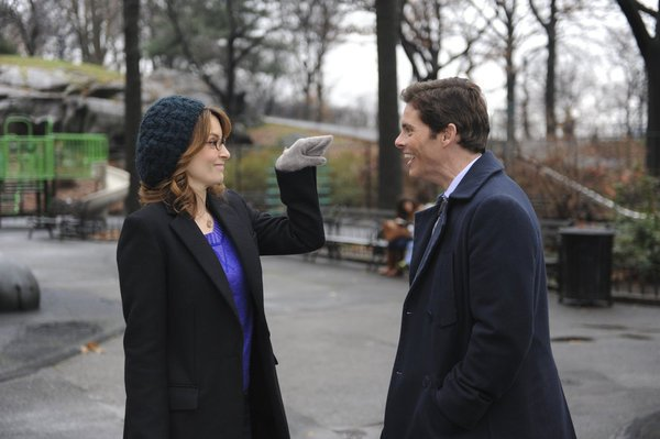 Tina Fey and James Marsden on 30 Rock.