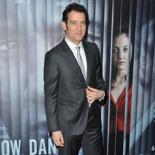 Clive Owen at the Paris Premiere of Shadow Dancer