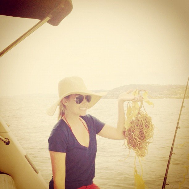Lauren didn't have much luck on a fishing trip. Source: Instagram user laurenconrad