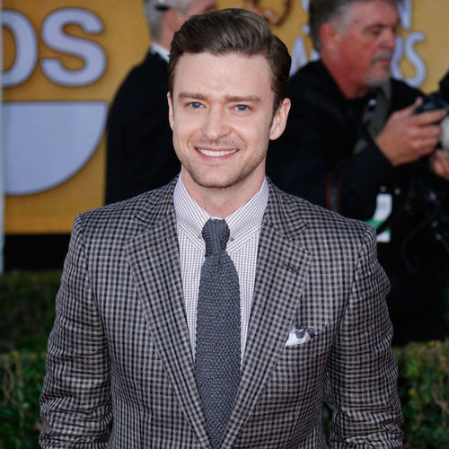 Justin Timberlake Performing at the Grammys 2013