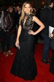 Teresa Palmer wore a Philip Armstrong gown.