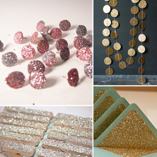 Glam Up 9 Everyday Objects With Glitter