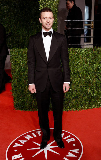 Justin dropped jaws in his sleek bow-tie look when he hit the red carpet for the Vanity Fair Oscars party in 2011.
