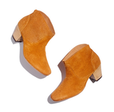 I may officially have an ankle boot obsession — they're the ideal, walkable, go-with-everything shoe that I know I'll be wearing as much in the Spring as I do throughout the Winter — and I really can't express how much I love the texture on these H by Hudson Embossed Booties($285).  — Hannah Weil, associate editor