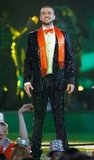 Even covered in slime at the Kids' Choice Awards in 2007, Justin was still on his suit-and-tie game.
