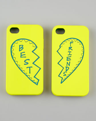Give one of these Rebecca Minkoff best friends iPhone cases ($57) to your BFF, and keep the other for yourself.