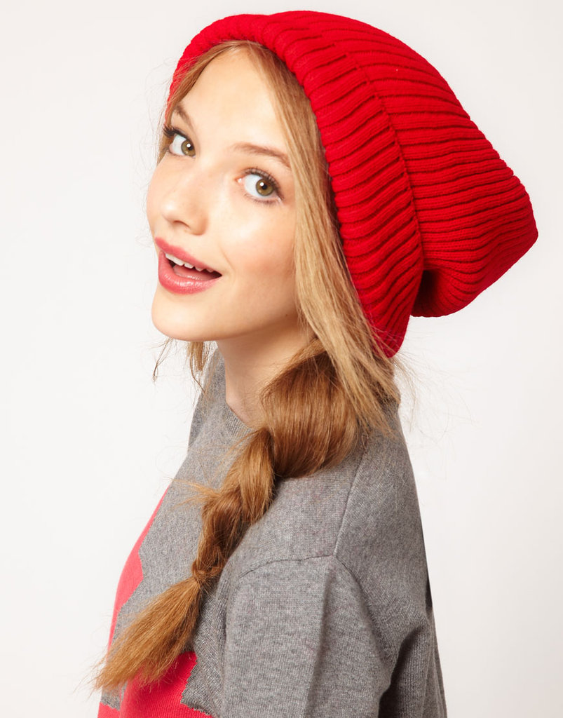 ASOS's Boyfriend Beanie ($12) will be a bright addition to your game-day look.