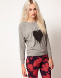 Illustrated People's heart sweater ($35, originally $61) is a cute way to show off your love 365 days of the year.