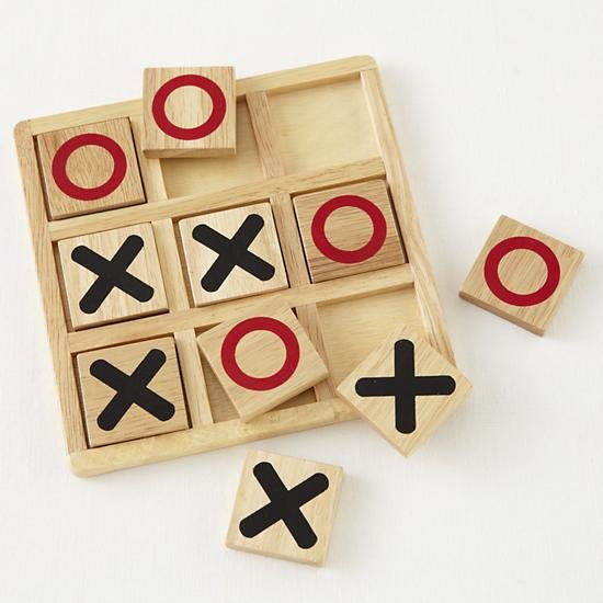 Wood Tic-Tac-Toe