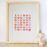 Trendy Peas I Love You Print