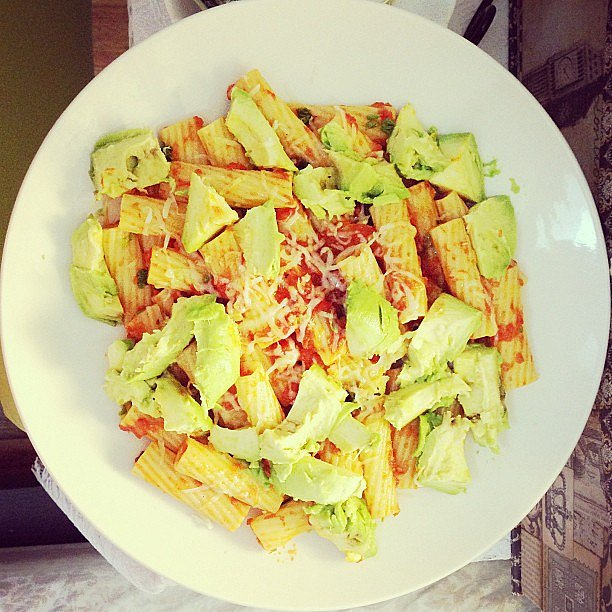Pasta With Avocado