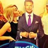 Julianne Hough ran into her boyfriend, Ryan Seacrest. Source: Instagram user juleshough