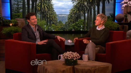 Video: Ryan Seacrest and Ellen Almost Get to 3rd Base and His Thoughts on Mariah and Nicki!