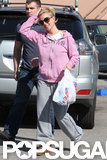 Britney Spears wore sunglasses while out shopping in LA.