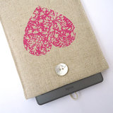 Pink Heart Kindle Touch Case ($32)
