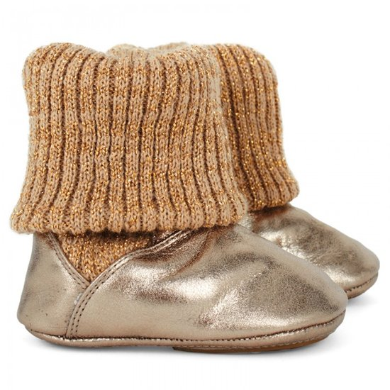 Tip Toey Joey Golden Shine Booties