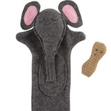 Seven Smooches Elephant Puppet