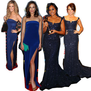 Celebrity Same Dress Double Ups from the 2013 AACTA Awards