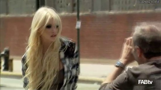 Material Girl: Taylor Momsen Behind the Scenes With Madonna and Lourdes Leon