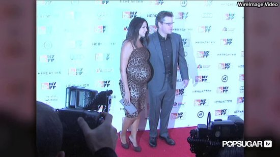 Video: Matt Damon & Leopard-Wearing Luciana in NYC