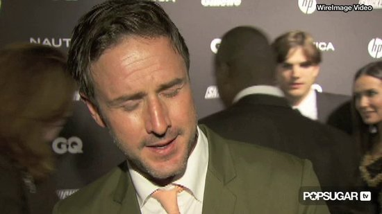 Video: David Arquette Parties With Dad-to-Be Nick Cannon