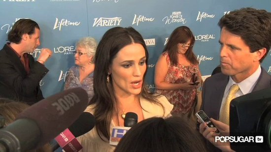 Video: Jen Garner & Katie Holmes's Power Lunch