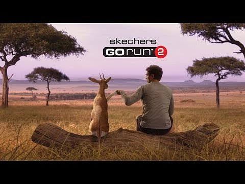 "Sketchers: ""Man vs. Cheetah"""