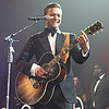 Justin Timberlake Performing at Pre Super Bowl Party 2013