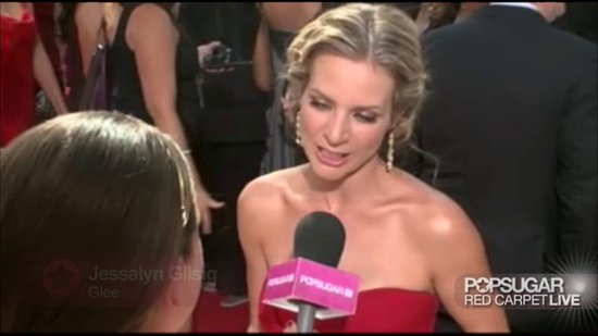 Glee's Jessalyn Gilsig Talks Britney Special at the Emmys
