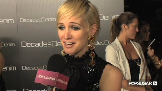 Video: Ashlee Simpson Gushes About Bronx