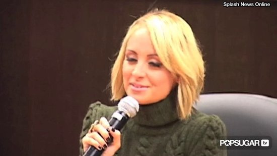 Video: Nicole Richie Is Ready to Sing at Book Signing!