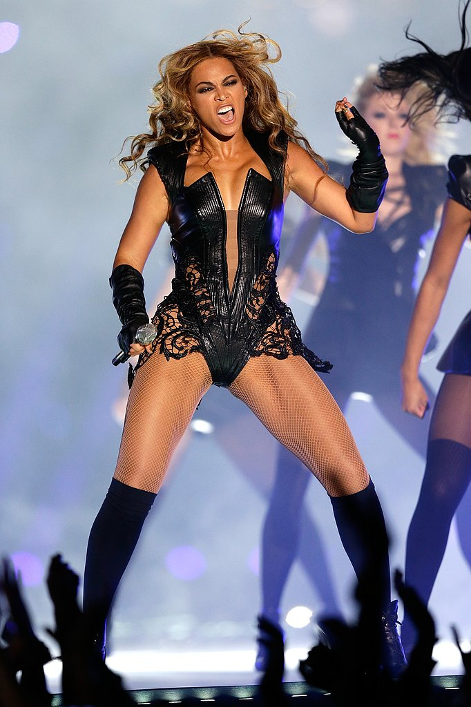 Fortunately, Rubin Singer also crafted the costume with a focus on movement, assembled to ensure flexibility and enable Beyoncé's full range of motion on stage.