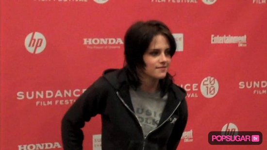 Exclusive Video: Kristen at The Runaways Premiere Party