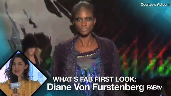 Diane von Furstenberg 2010 Fashion Week Runway: What's Fab First Look