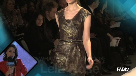 Lela Rose at New York Fashion Week: What's Fab First Look!