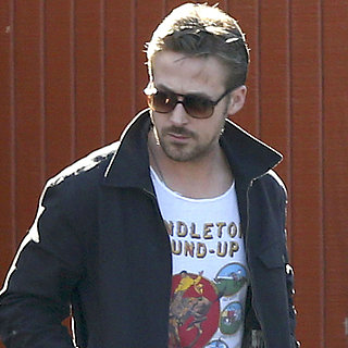 Ryan Gosling Gets Lunch in Toluca Lake
