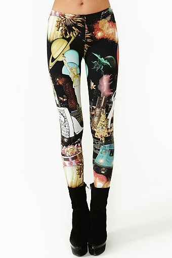 Godzilla Space Leggings ($38)