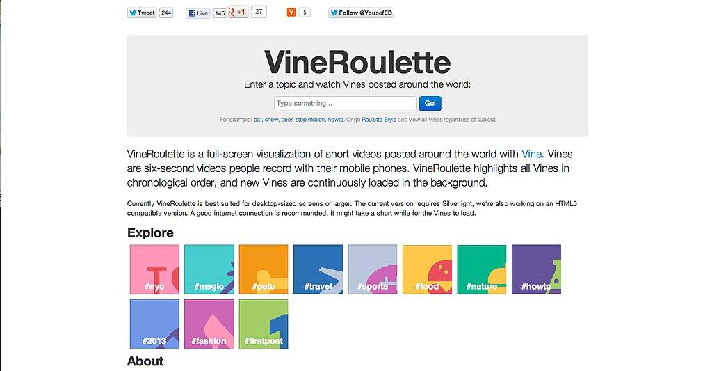 VineRoulette
