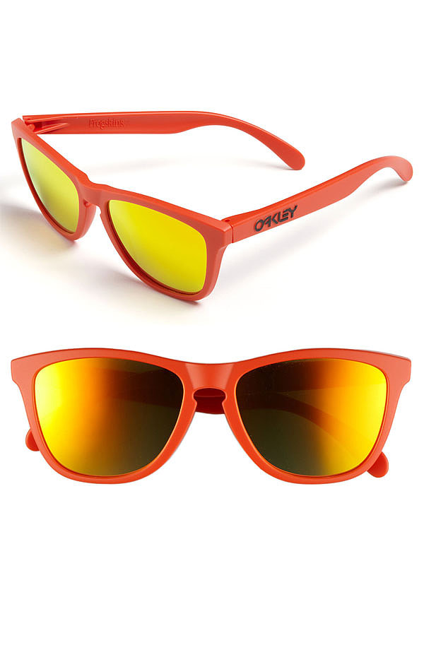 It's as true today as it was in the '90s: the sun never sets on the cool, especially when you're wearing Oakleys ($120).