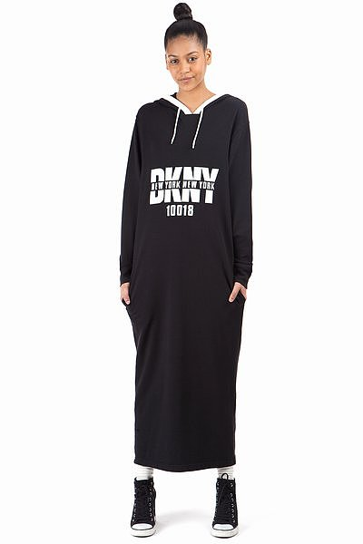 DKNY x OC Fall '94 Hooded Maxidress ($195)