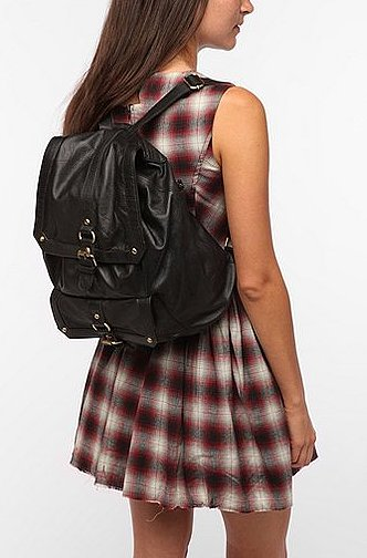 Designer heavyweights like Pierre Hardy, Alexander Wang, and Tory Burch are all behind the backpack's comeback — but if you want to play with the trend, we suggest starting with a basic go-with-anything style, like this BDG Classic Leather Backpack ($120) that'll look even better with your cutoffs or plaid dresses.