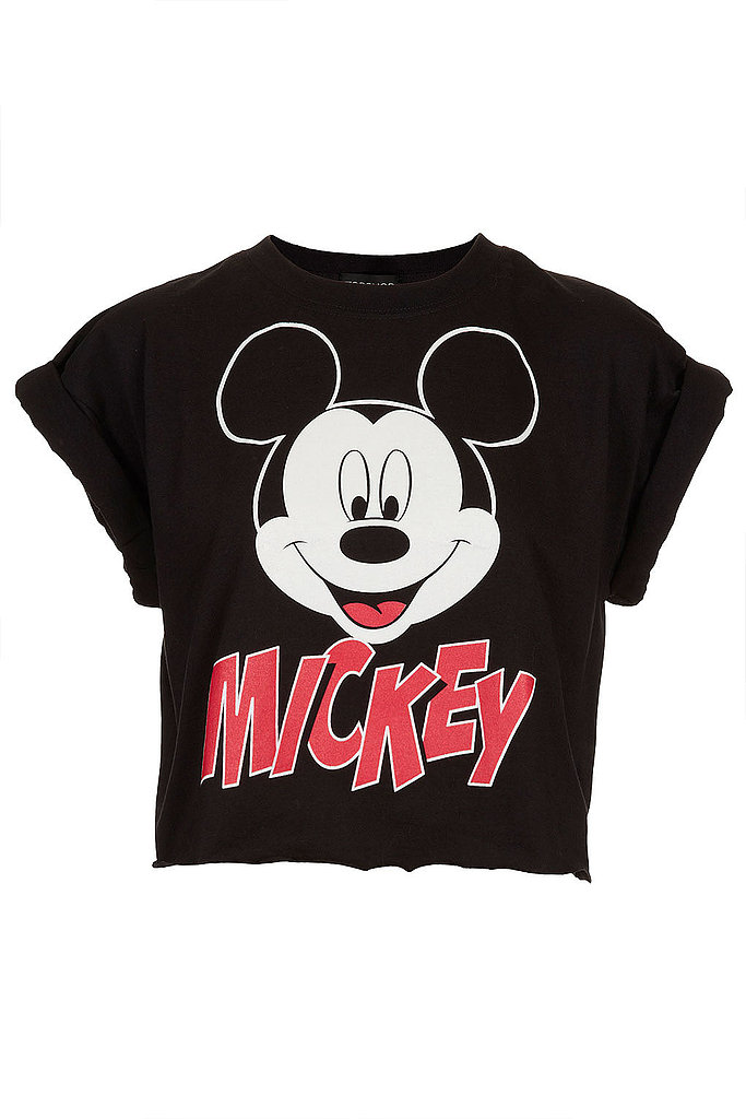 This Topshop Mickey Crop Top  ($32) is a nod to your inner '90s child — that also happens to be