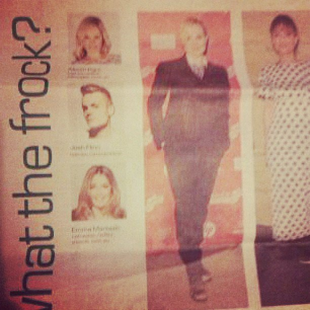 Ooo-wee! Our girl Ali was one of the fashion experts to cast her eye over a few outfits in mX.