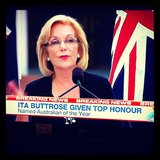 We were stoked to see media icon Ita Buttrose given the honour of being named Australian of the Year. What a woman!