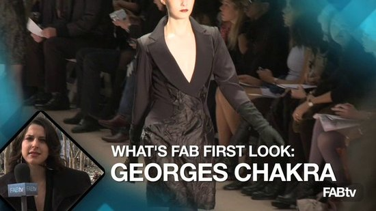 Edition Georges Chakra at New York Fashion Week: What's Fab First Look!