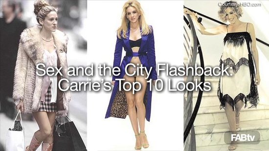 PREVIEW: SATC Top 10 Carrie Looks