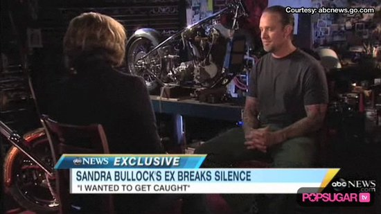 Video: Jesse James Still Loves Sandra Bullock, Wanted to Get Caught