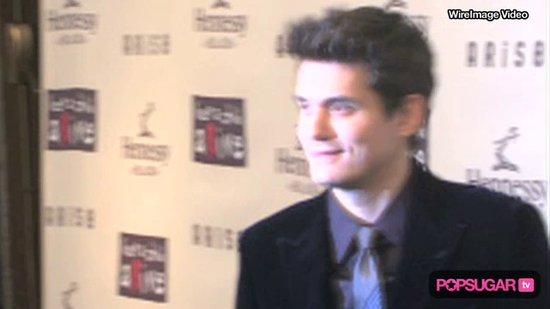 Video: John Mayer Supports Oprah Contestant