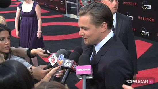 Video: Leo and Kellan Make the Inception Premiere Dreamy
